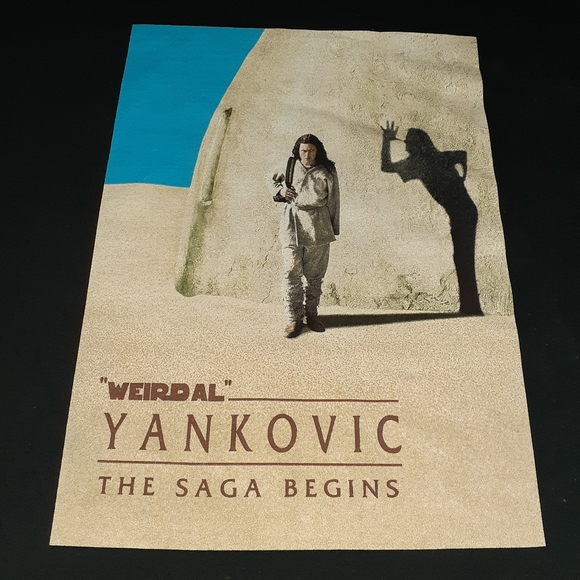 Fruit of the Loom Other - 1999 Weird Al Yankovic The Saga Begins Tour Shirt